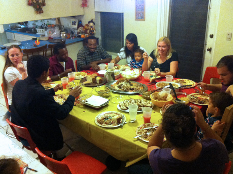 A Mexican Bahamian American Thanksgiving